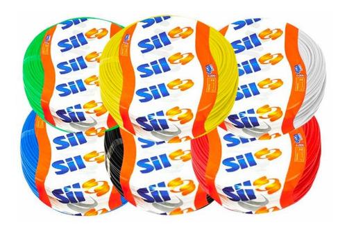 Cabo Flexível 2,5mm 70g 750v (cores) Rolo Com 100m Sil