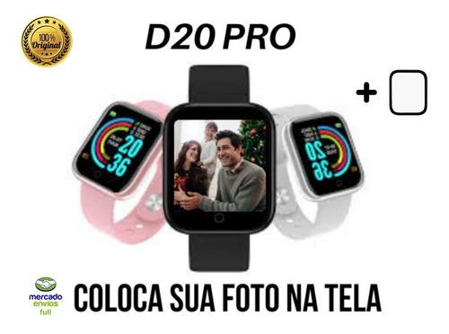 Smartwatch Relógio Inteligente D20 Pro Android/ios Promoção
