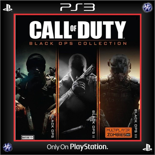 Call Of Duty Black Ops Collection Ps3 Digital