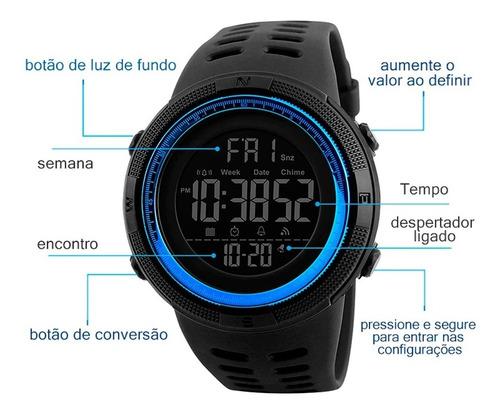 Relógio Esportivo Digital Prova D Agua Skmei