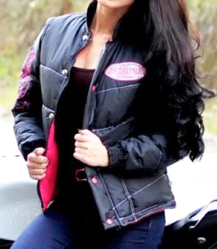 Jaqueta Motociclista Feminina Arizona Refletiva
