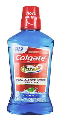 Enxaguante Bucal Colgate Total 12 Clean Mint 500ml