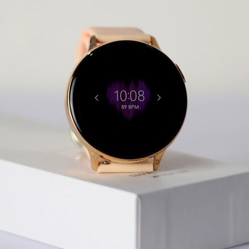 Relógio Inteligente S20 Smartwatch Pressão Arterial Rosa