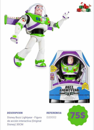Buzz Lighyear Original 31 Cm