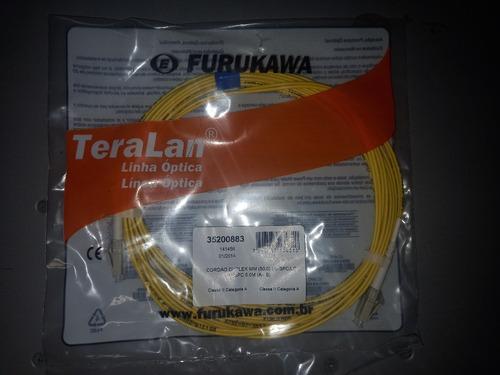 Kit 4x Cordao Óptico Lc-spc/lc-spc Mm 5.0m Furukawa 35200883
