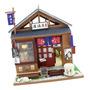 1:24 Casa De Bonecas Em Miniatura Diy Com Móveis Izakaya
