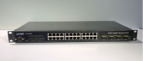 Switch Planet Wgsw-24040 24p Gigabit 1000 4 Sfp Gerenciável