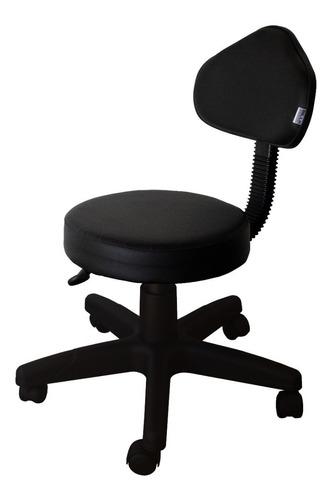 Cadeira Mocho Para Clinica / Estética / Laboratorio/tatoo