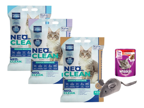 Neo Clean X 3 30lt = 24kg + ¡regalo!