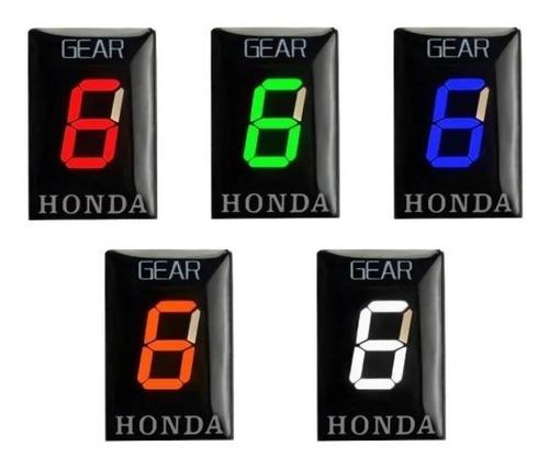 Indicador Marcha Honda Hornet Cbr Cb Plug And Play Universal
