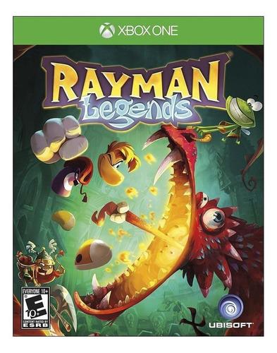 Rayman Legends Ubisoft Xbox One  Físico