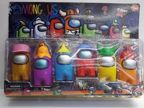Juguete Among Us Caja Colección Producto Nuevo #toyfeliz
