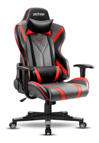 Cadeira Gamer Pctop Spider Vermelha X-2577