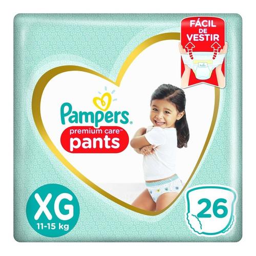 Fralda Pampers Pants Premium Care Xg - 26 Unidades