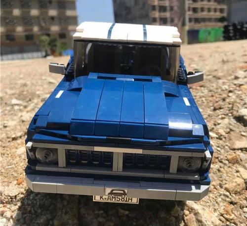 Ford F100 Blocos De Montar Mustang