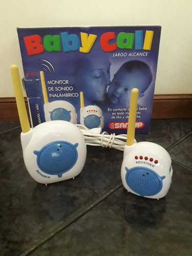 Baby Call San Up Largo Alcance Para Bebes O Ancianos