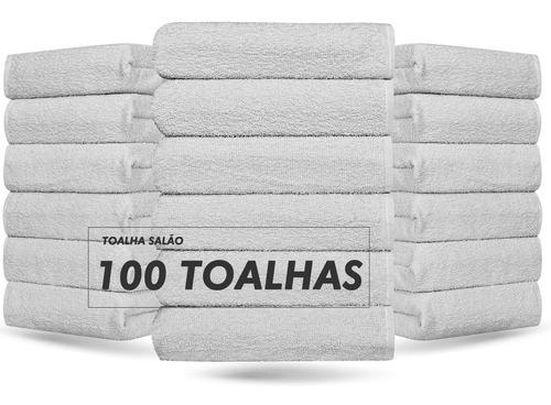 100 Toalhas Para Salão - 100% Algodão - Atacado - Oferta