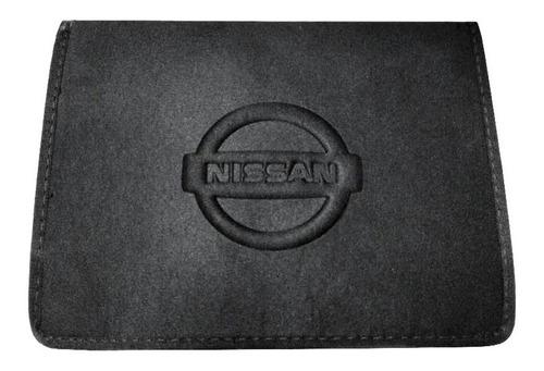 Pasta Porta Manual Do Proprietário Documentos Nissan Sentra