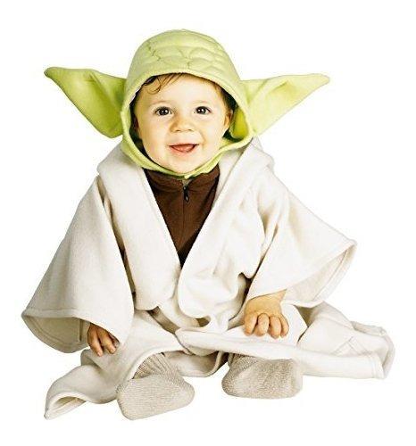 Disfraz Star Wars Yoda, De 12-24 Meses