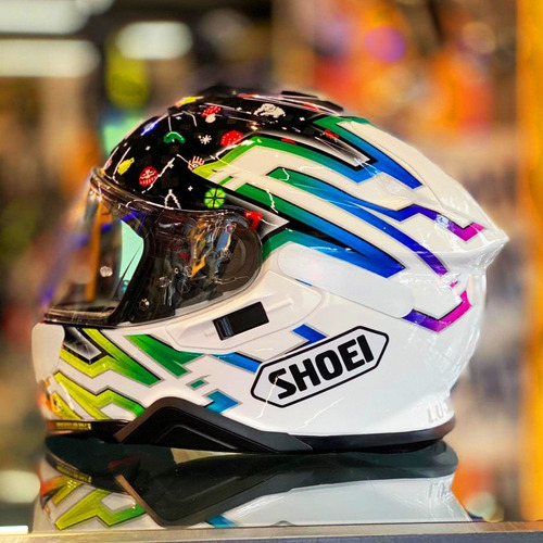 Capacete Shoei Gt air 2 Lucky Charms Tc 10 Colorido (games)