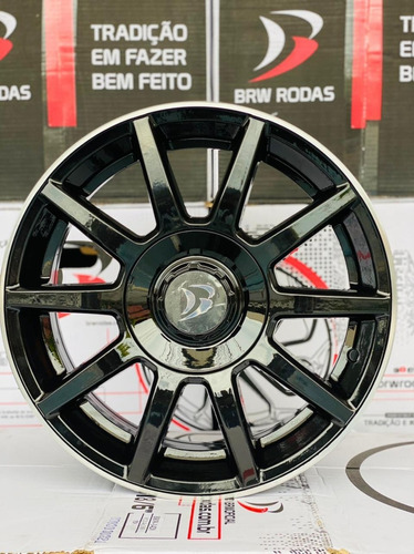 Jogo De 4 Rodas Daimler Aro 14 Brw  Spirit 4x100 4x108