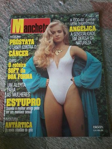 Manchete Angelica Eco 92 Myriam Rios