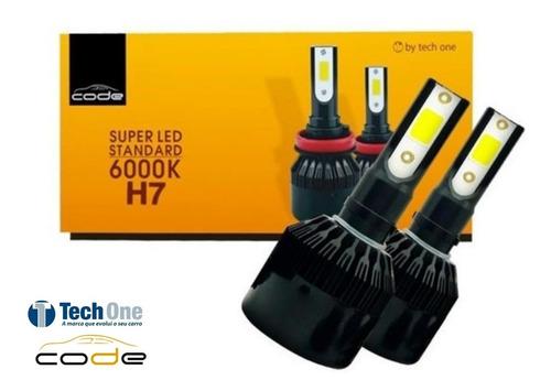 Kit Super Led Tech One 12v 24v H1 H3 H4 H7 H8 H9 H11 Hb3 Hb4