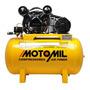 Compressor De Ar Elétrico Monofásico Motomil Air Power Cmv 10pl/100 127v/220v 60hz