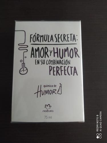 Perfume Química De Humor Natura - mL a $933