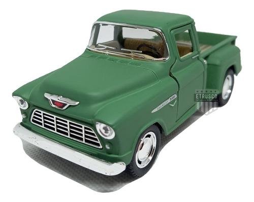 Miniatura Chevrolet Chevy Stepside 1955 Carrinhos Coleção