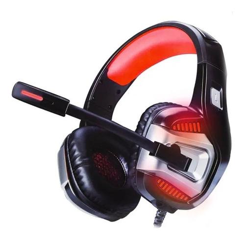 Headphone Gamer 7.1 Surround Com Led Usb P2 Ps4 Pc Celular