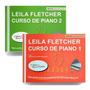 Kit Leila Fletcher Curso De Piano 1 E 2