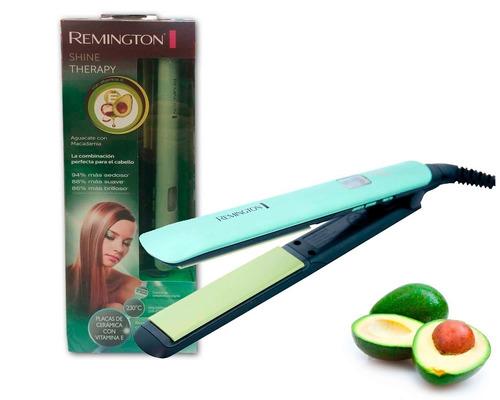 Plancha Cabello Remington S-9960 Alisador Con Palta Y Mac