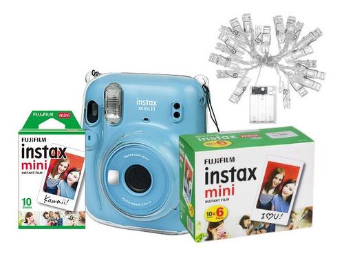 Kit Instax Mini 11  + Filme 60 Fotos + Brinde