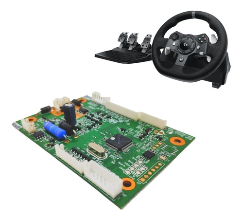Placa Lógica Principal Joystick Logitech G920 - Placa Mãe