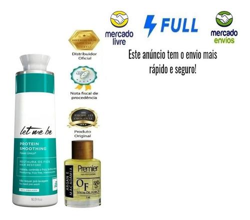 Progressiva Let Me Be Sem Formol 500ml A Melhor!!+brinde! Original