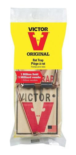 Trampa Para Ratas Victor Control De Plagas No Veneno