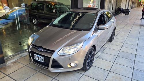 Ford Focus Lll 2015 Titanium 4 Ptas Automatico Impecable Pto