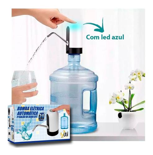 Bomba Eletrica Automatica Para Galao De Agua 20 Litros