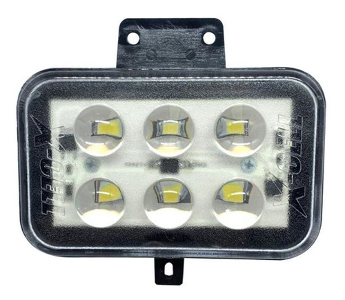 Farol Bloco Óptico Crf 230 Crf 250f Lampadas De 6 Leds