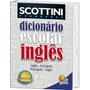 Livro Scottini Dicionário 60 Mil Verbetes: Inglês (pvc)