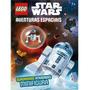 Livro Aventuras Espaciais Lego Star Wars Minifigura R2d2