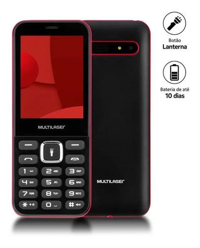 Celular Multilaser Up Max Idoso Radio Fm Mp3 Bluetooth Preto