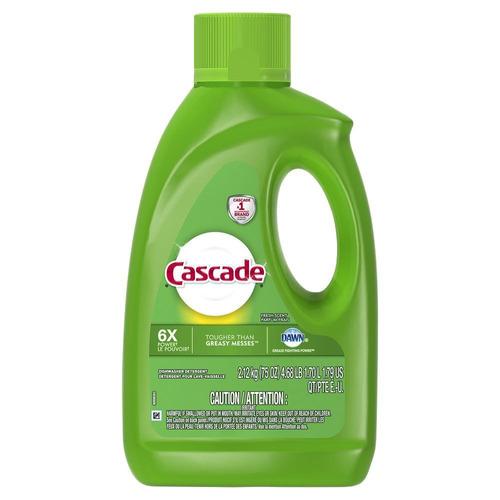 Detergente Para Lavavajillas Cascade Gel Fresh En Botella 1.7l