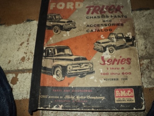 Ford Truck 1948 A1955 Catalogo De Peças