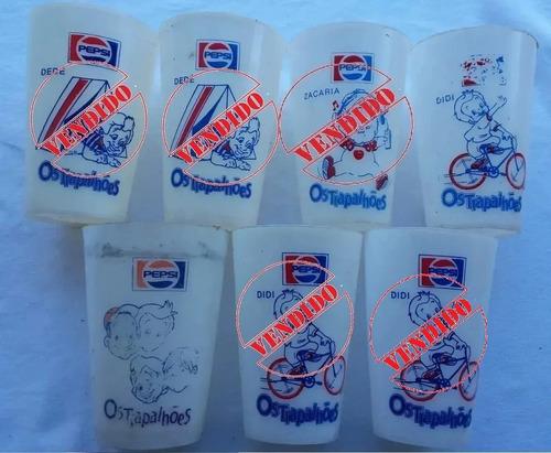 Copo Antigo Pepsi - Promoção Os Trapalhões - Ab