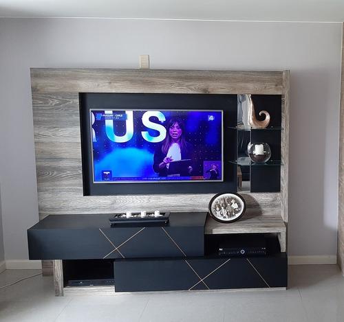 Rack Modular Para Tv Muy Buena Calidad Con 2 Cajones Grandes