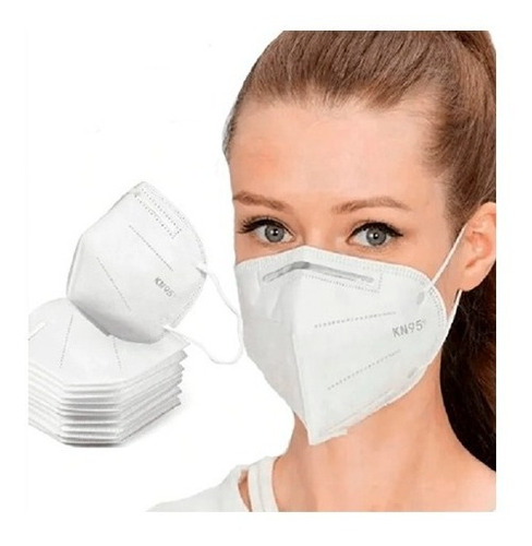 Kit 10 Máscara Kn95 Proteção Profissional 10 Unidades