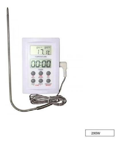 Termómetro Horno Digital Luft 290w Alarma Ideal Gastronomía
