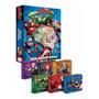 Livro Box De Historias Vingadores C/ 6 Mini Livrinhos